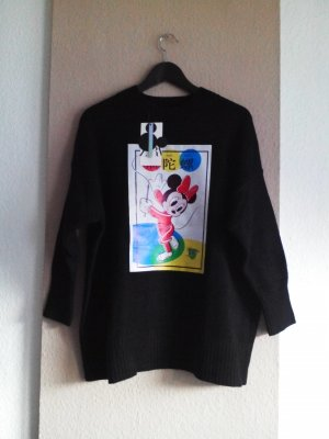 hübscher Strickpullover in schwarz, Disney Collection, Grösse M, neu