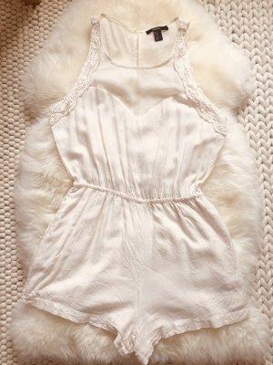 Forever 21 Jumpsuit white-cream