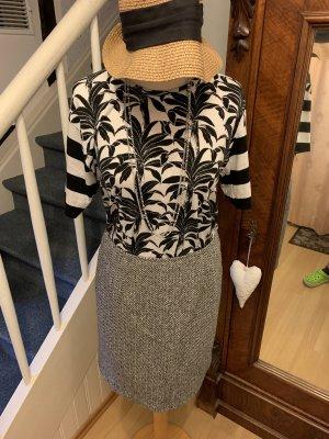 Eddie Bauer Tweed Skirt black-light grey