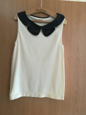 Koton T-Shirt black-cream