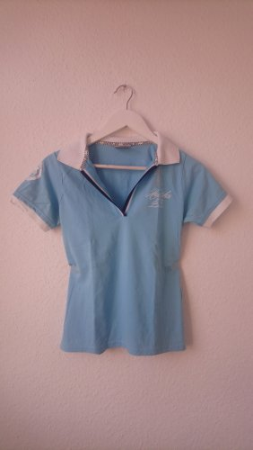 Vintage Polo Shirt multicolored cotton