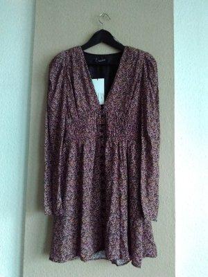 hübsches geblümtes Minikleid aus Viskose, Größe S
