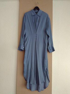 hübsches Hemdblusenkleid aus 100% Viskose, Grösse M oversize, neu