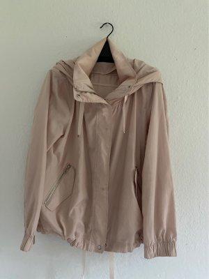 Zara Basic Giacca con cappuccio rosa pallido-rosa antico