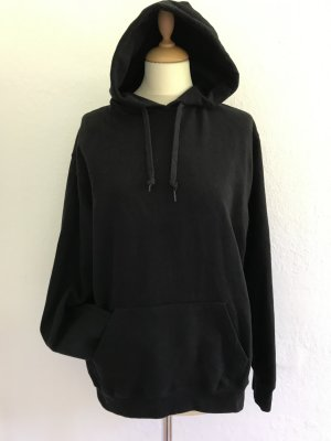 B&C collection Hooded Sweatshirt black-gold-colored cotton