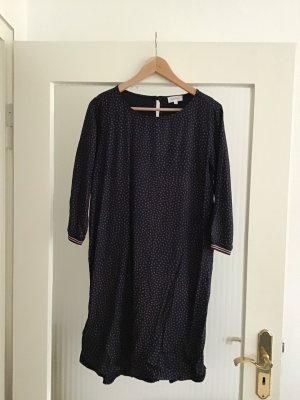 armedangels Midi Dress dark blue-purple viscose