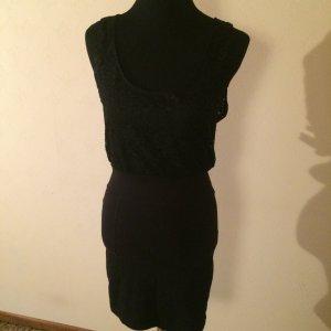 Motel Vestido de encaje negro