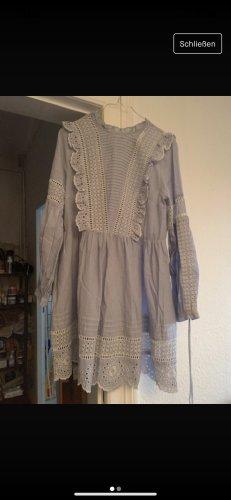 Topshop Babydoll-jurk azuur Katoen