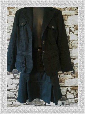 Authentic Style Tailleur nero Tessuto misto