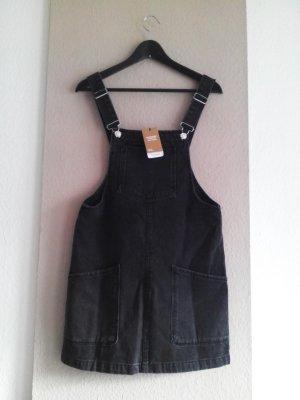 hübsches kurzes Jumperkleid aus Baumwolle in schwarz, Grösse S, neu