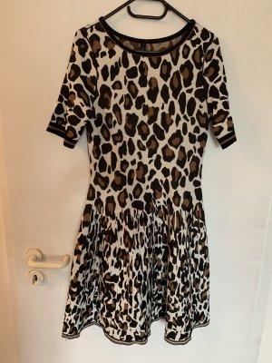 Hübsches Marc Cain Kleid mit Leoparden-Muster