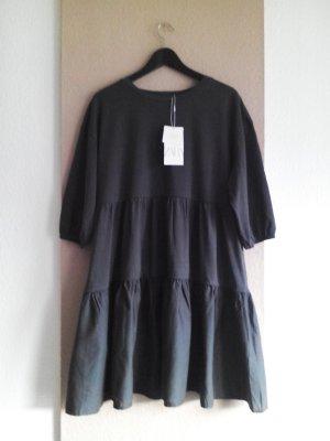 hübsches Minikleid aus Baumwolle in verwaschener Optik, Größe L, neu