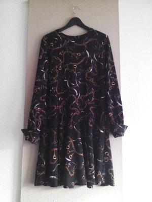 hübsches Minikleid mit Kettenprint, Grösse L