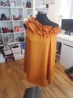 H&M Robe asymétrique orange