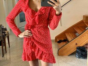 Hübsches Rotes Kleid mit Sternen nie getragen
