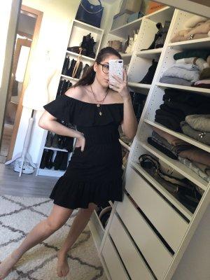 Hübsches schulterfreies Volant Kleid von Asos