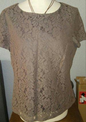 bpc selection Camicia a tunica marrone chiaro-beige