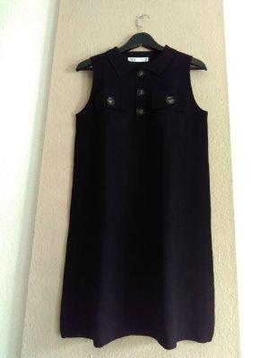 hübsches Strick-Minikleid in schwarz, Grösse M, neu