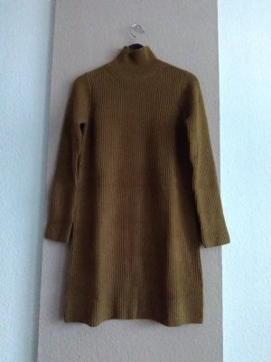 hübsches Strickkleid/Long Pullover in olivengrün, Grösse S, neu