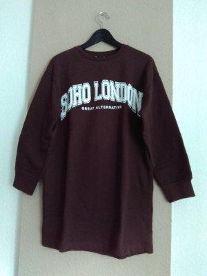 hübsches Sweatshirt-Kleid aus 96% Baumwolle, Grösse L, neu