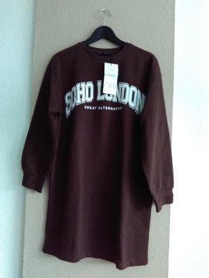 hübsches Sweatshirt-Kleid aus 96% Baumwolle, Grösse M, neu