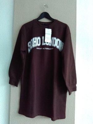 hübsches Sweatshirt-Kleid aus 96% Baumwolle, Grösse S, neu