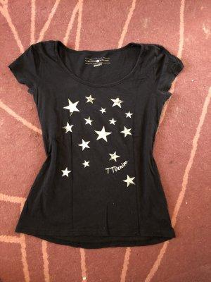 hübsches T-shirt mit Sternen