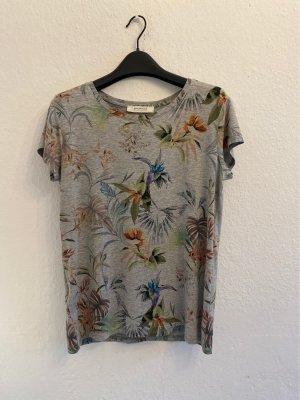 Promod T-shirt Wielokolorowy Wiskoza