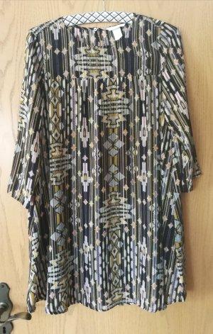 Hübsches Tunika mini Kleid
