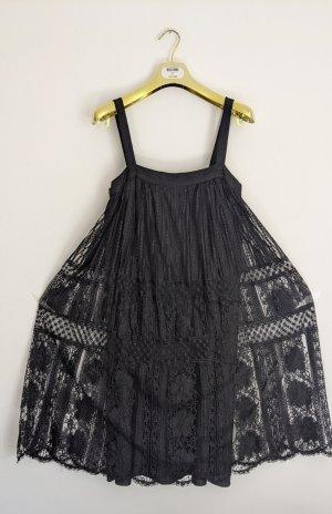 Sukienka typu babydoll czarny