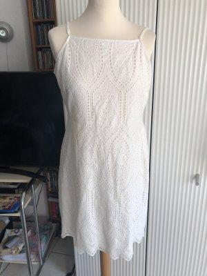 Even & Odd Pinafore dress white