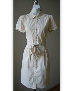 ♡ Hübsches, zartgestreiftes Hemdkleid mit Stoffgürtel von H&M, NP 24,99€ ♡