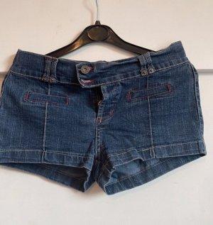 Pantalón corto azul acero-azul aciano