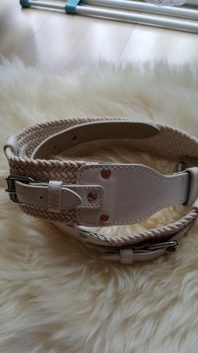 s.Oliver Waist Belt natural white mixture fibre