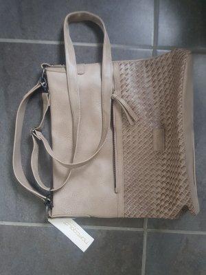 hüftgold berlin, Handtasche, Damen Tasche, taupe, , neu m. Etikett