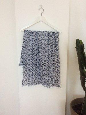 Hüftgold Foulard blanc-bleu coton