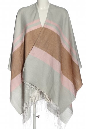 Hüftgold Cape striped pattern casual look