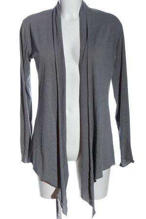 Hüftgold Cardigan light grey casual look