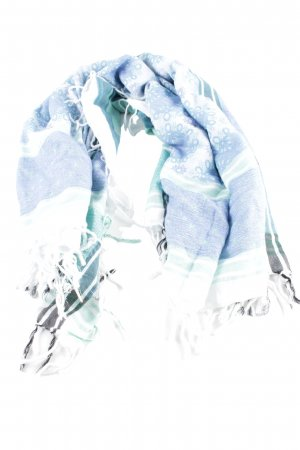 Hüftgold Écharpe à franges Mélange de motifs style d'affaires