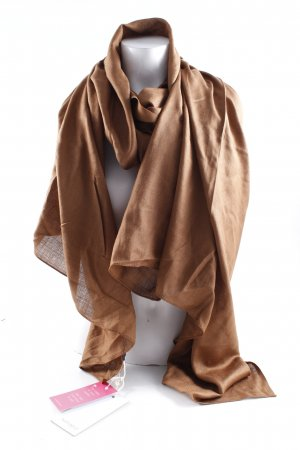 Hüftgold Foulard marron clair style décontracté