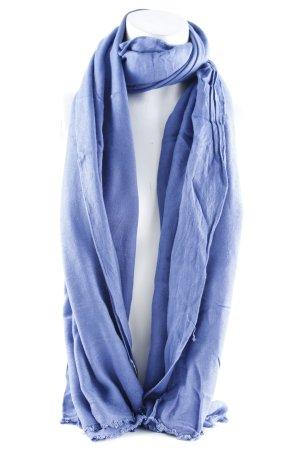 Hüftgold Foulard bleu acier style décontracté