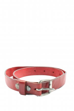 Hüftgold Leather Belt red casual look