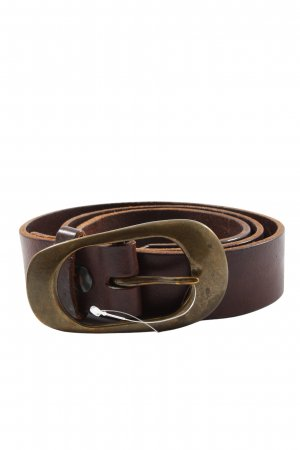 Hüftgold Leather Belt brown business style