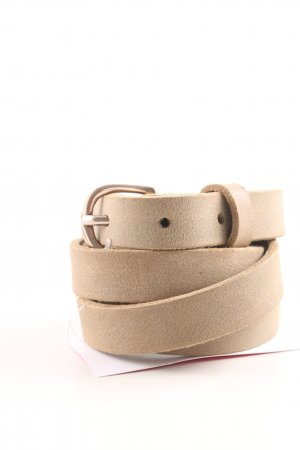 Hüftgold Leather Belt natural white casual look
