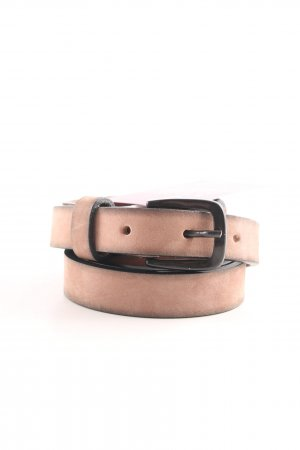 Hüftgold Leather Belt nude-brown color gradient casual look