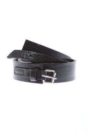 Hüftgold Leather Belt black business style