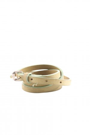 Hüftgold Ledergürtel braun-khaki Casual-Look