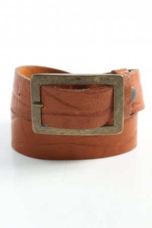 Hüftgold Leather Belt brown extravagant style