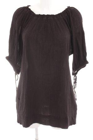 Hüftgold Minikleid schwarz Casual-Look
