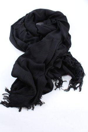 Hüftgold Pashmina black casual look